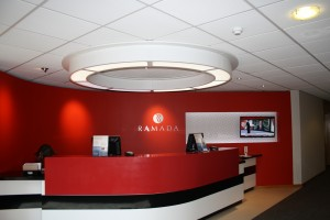 A warm welcome from Ramada
