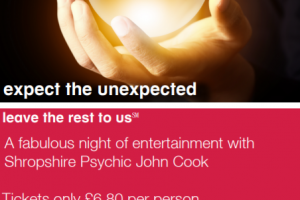 Psychic Nights with Shropshire Psychic John Cook