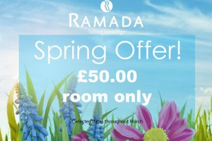 Overnight stay for two – only £50.00!